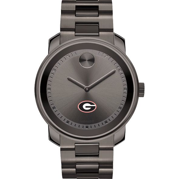 University of Georgia Men's Movado BOLD Gunmetal Grey - Image 2