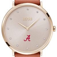 University of Alabama Women's BOSS Champagne with Leather from M.LaHart