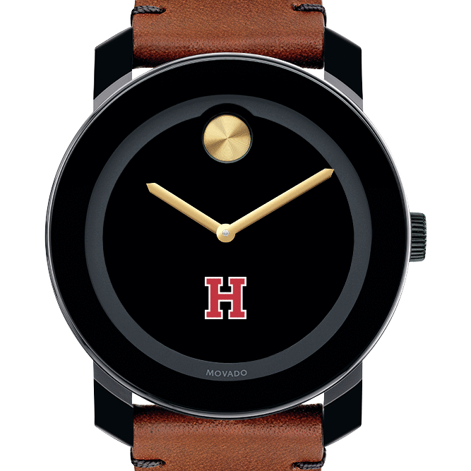 Harvard Men's Movado BOLD with Brown Leather Strap