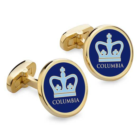 Columbia Enamel Cufflinks