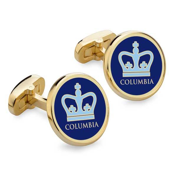 Columbia Enamel Cufflinks