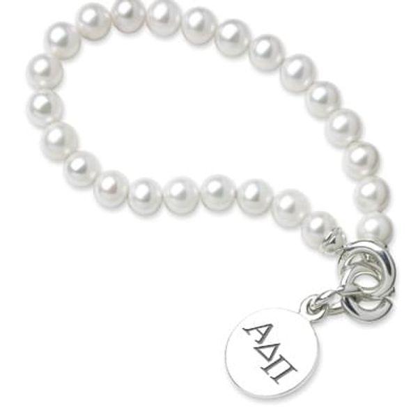 Alpha Delta Pi Pearl Bracelet with Sterling Charm