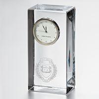 Yale Tall Desk Clock by Simon Pearce