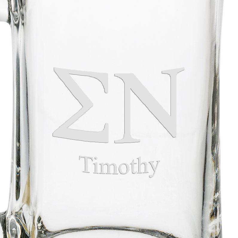 Sigma Nu 25 oz Beer Mug - Image 3