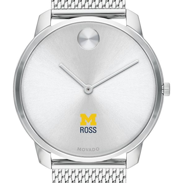 Ross School of Business Men's Movado Stainless Bold 42