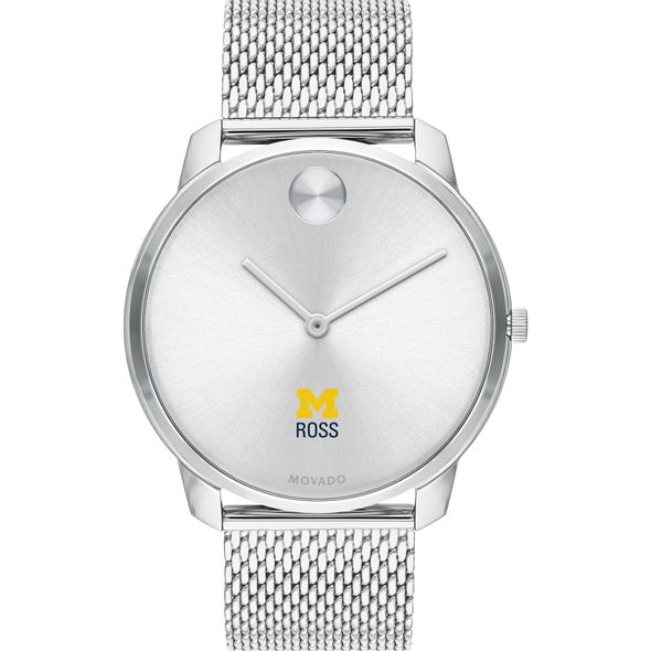 Ross School of Business Men's Movado Stainless Bold 42 - Image 2