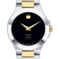 Emory Goizueta Women's Movado Collection Two-Tone Watch with Black Dial