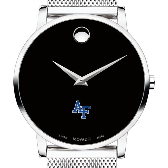 US Air Force Academy Men's Movado Museum with Mesh Bracelet