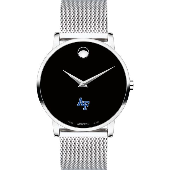 US Air Force Academy Men's Movado Museum with Mesh Bracelet - Image 2
