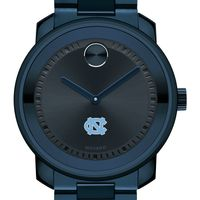 University of North Carolina Men's Movado BOLD Blue Ion with Bracelet