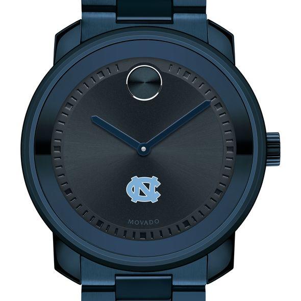 University of North Carolina Men's Movado BOLD Blue Ion with Bracelet