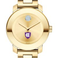 Holy Cross Women's Movado Gold Bold