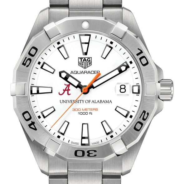 Alabama Men's TAG Heuer Steel Aquaracer