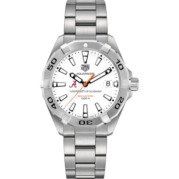 Alabama Men's TAG Heuer Steel Aquaracer - Image 2