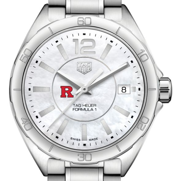 Rutgers University Women's TAG Heuer Formula 1 with MOP Dial