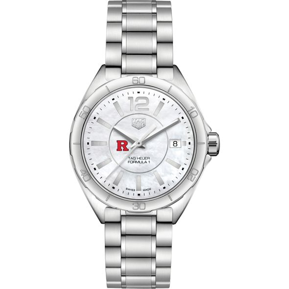 Rutgers University Women's TAG Heuer Formula 1 with MOP Dial - Image 2