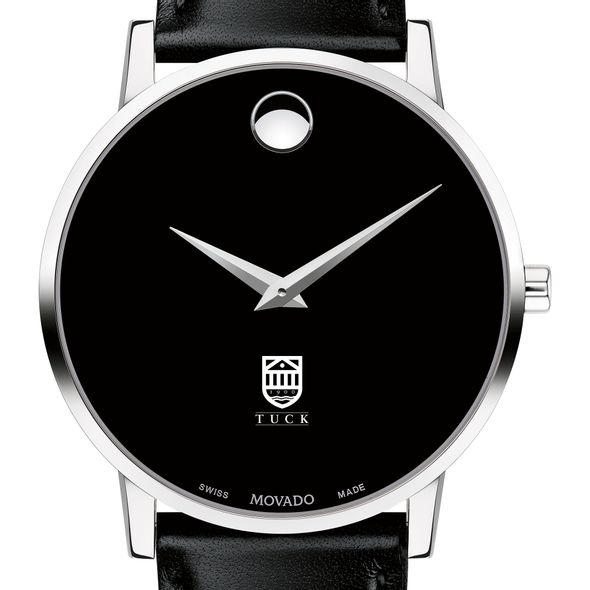 Tuck Men's Movado Museum with Leather Strap
