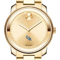 US Coast Guard Academy Men's Movado Gold Bold
