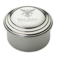 Ball State Pewter Keepsake Box
