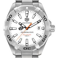 Oklahoma State University Men's TAG Heuer Steel Aquaracer