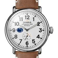 Penn State Shinola Watch, The Runwell 47mm White Dial