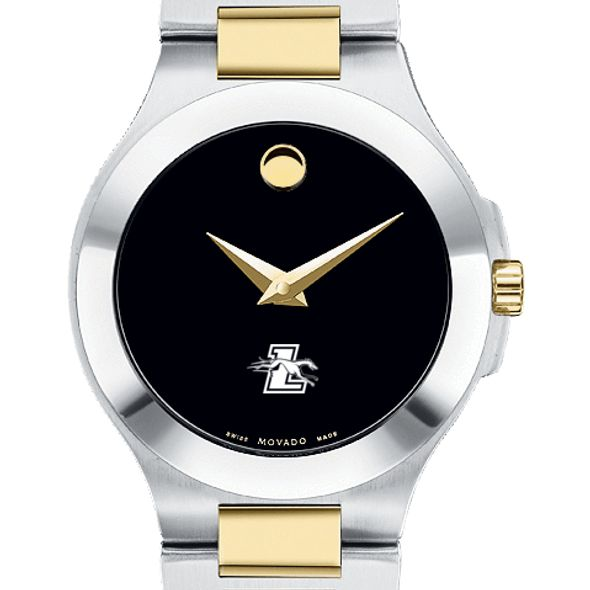 Loyola Women's Movado Collection Two-Tone Watch with Black Dial - Image 1