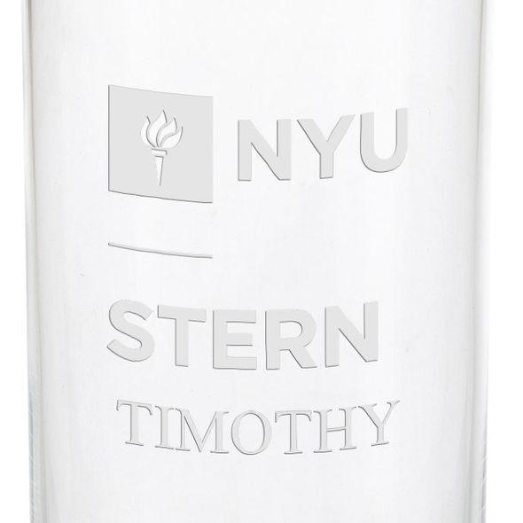 NYU Stern Iced Beverage Glasses - Set of 4 - Image 3