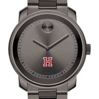Harvard University Men's Movado BOLD Gunmetal Grey