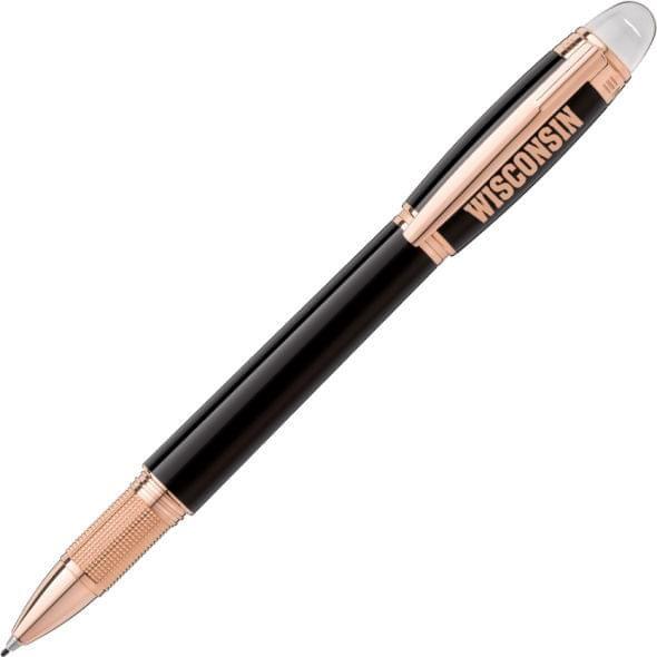 Wisconsin Montblanc StarWalker Fineliner Pen in Red Gold