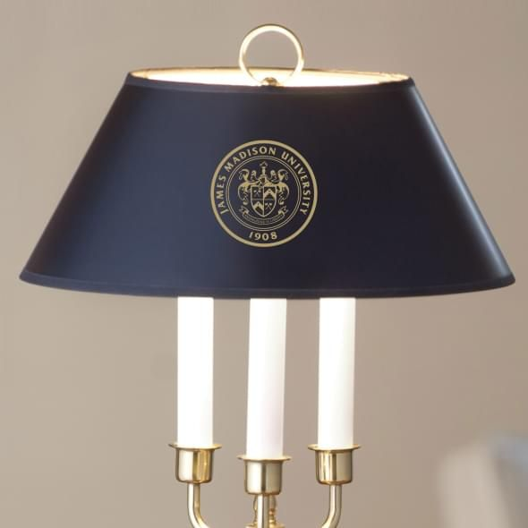 James Madison University Lamp in Brass & Marble - Image 2