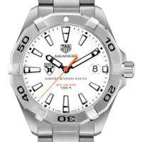 Harvard Business School Men's TAG Heuer Steel Aquaracer