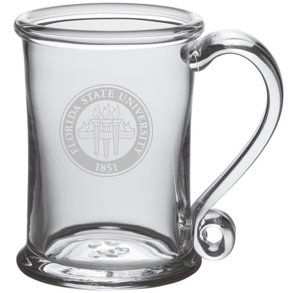 Florida State Glass Tankard by Simon Pearce - Image 1