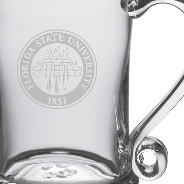 Florida State Glass Tankard by Simon Pearce - Image 2