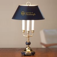 Pitt Lamp in Brass & Marble