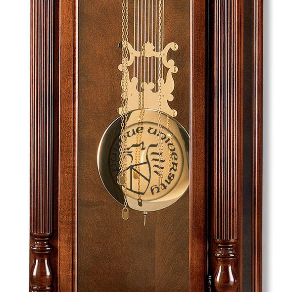 Purdue University Howard Miller Grandfather Clock - Image 2