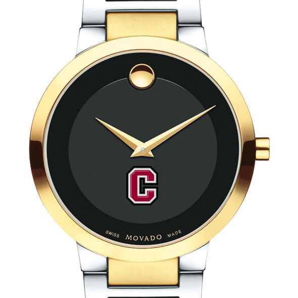 Colgate University Men's Movado Two-Tone Modern Classic Museum with Bracelet
