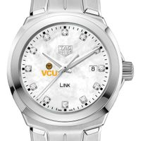 Virginia Commonwealth University TAG Heuer Diamond Dial LINK for Women