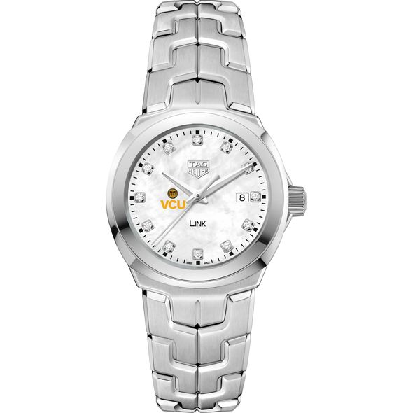 Virginia Commonwealth University TAG Heuer Diamond Dial LINK for Women - Image 2