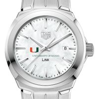 University of Miami TAG Heuer LINK for Women