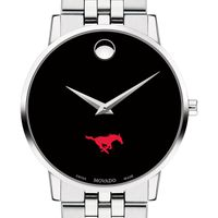 Southern Methodist University Men's Movado Museum with Bracelet