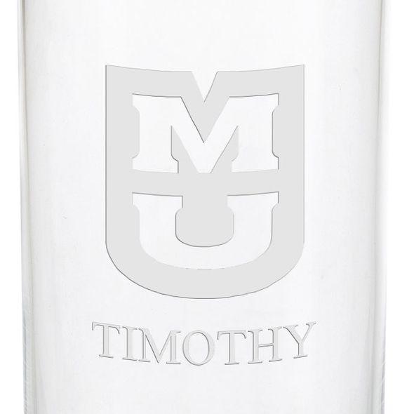University of Missouri Iced Beverage Glasses - Set of 2 - Image 3