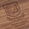 Yale University Solid Walnut Desk Box - Image 3