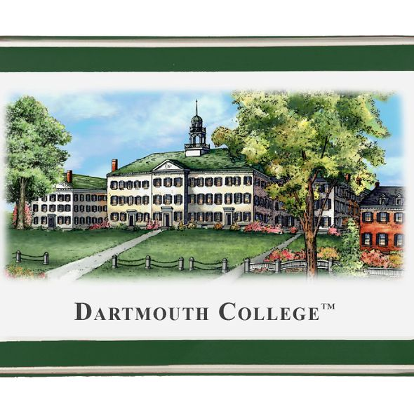 Dartmouth College Eglomise Paperweight - Image 2