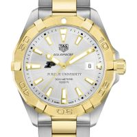 Purdue University Men's TAG Heuer Two-Tone Aquaracer