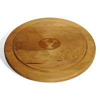 Brigham Young University Round Bread Server