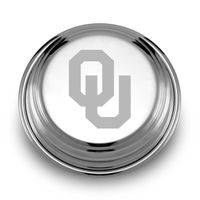 Oklahoma Pewter Paperweight