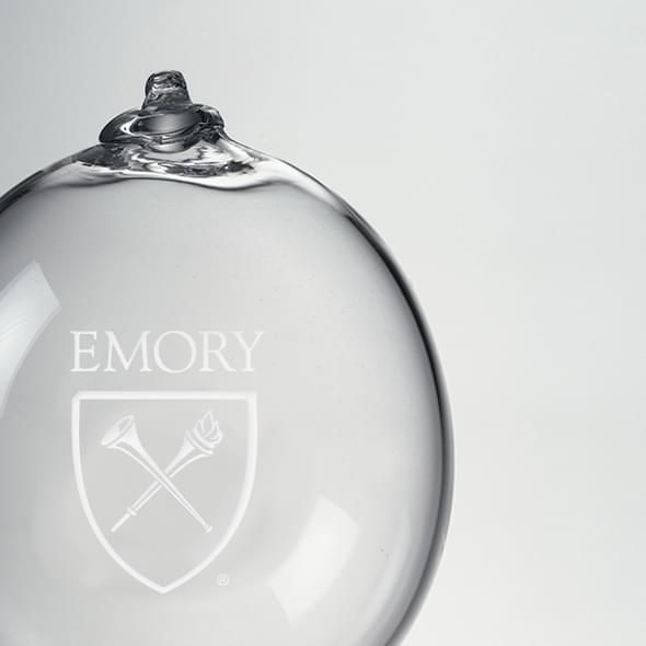 Emory Glass Ornament by Simon Pearce - Image 2