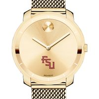 Florida State University Women's Movado Gold Bold 36