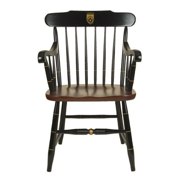 Lehigh University Captain's Chair by Hitchcock
