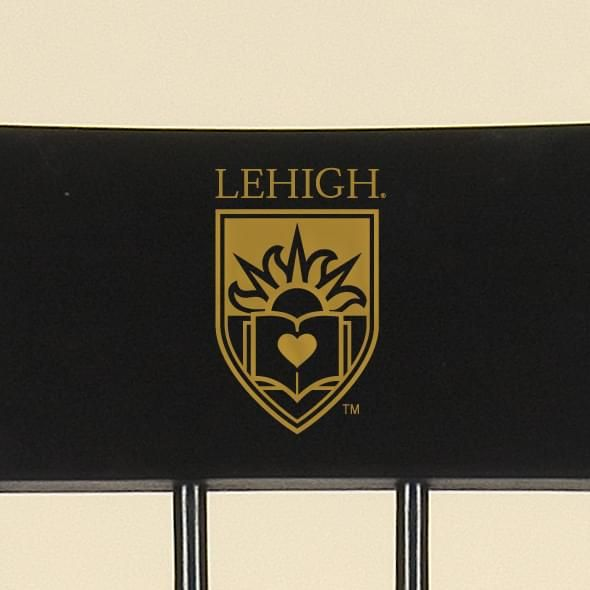 Lehigh University Captain's Chair by Hitchcock - Image 2